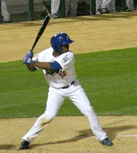 Jonathan Garcia was a triple shy of hitting for the cycle for the Quakes on Monday afternoon. (Photo by Dustin Nosler of  feelinkindablue.com)