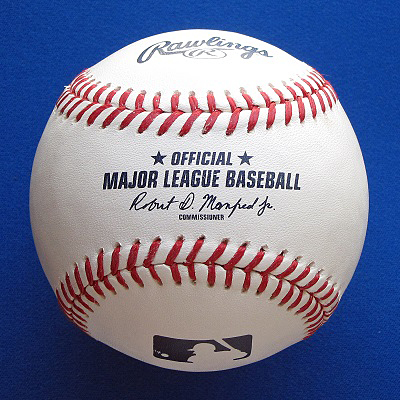 The current Rawlings Official Major League Baseball.