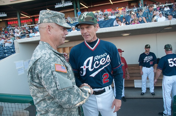 In addition to his 7 years of experience as a manager, Butler had an outstanding MLB career. To this day he is still considered one of the best leadoff hitters to even play the game. (Photo ccourtesy of renoaces.com)