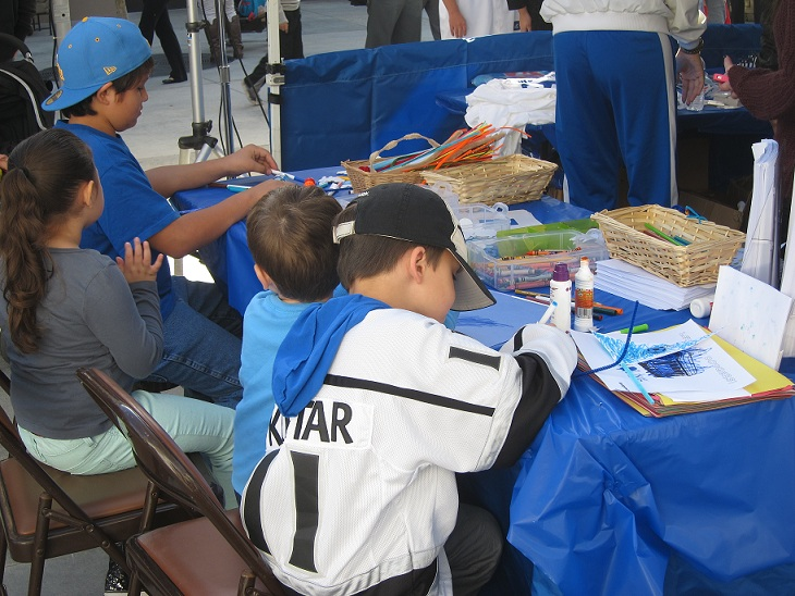 Youngsters enjoyed carnival games and arts & crafts activities. (Photo credit Ron Cervenka)