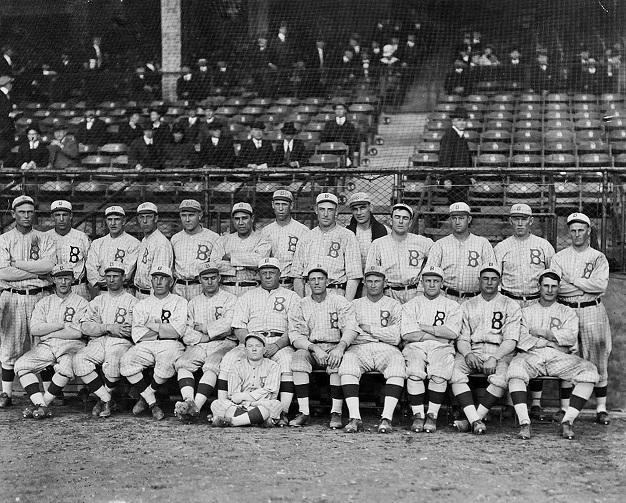 1916 Brooklyn Robins (eBay photo)