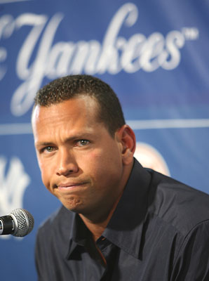 Alex Rodriguez is once again linked to PEDs - go figure. (AP photo)