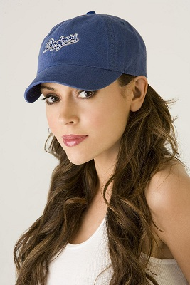 Alyssa Milano is a huge Dodger fan and frequently seen at Dodger Stadium. (Photo courtesy of fanpop.com)