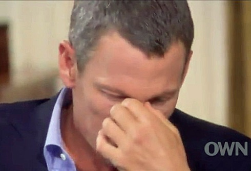 Lance Armstrong isn't sorry he took PEDs - he's sorry that he got caught taking them. (Video capture from Oprah Winfrey Network)