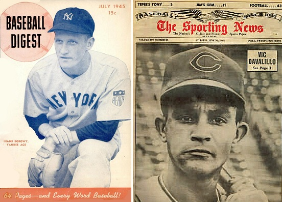 Back in the day, die-hard baseball fans had to rely on publications such as Baseball Digest and The Sporting News for information about teams and players outside of their local market.(Photos courtesy of Wikipedia)