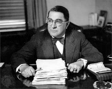 Dodgers general manager Branch Rickey was known for his sneak tactics to get players to sign contracts for less money. (Photo courtesy of jackierobinson19.blogspot.com)