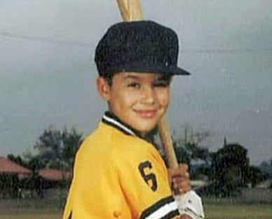 Little Leaguer Andre Ethier(Video capture courtesy of Fox Sports)