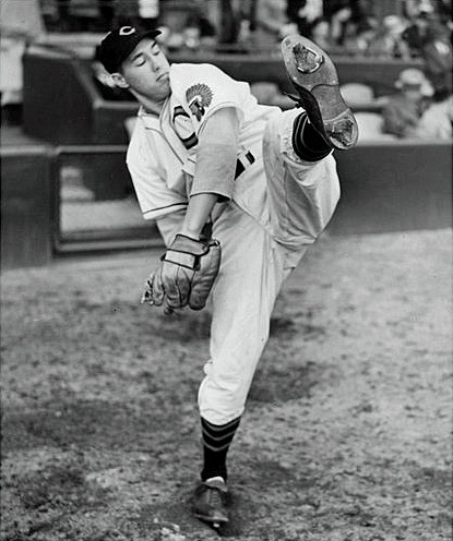 """My father loved baseball and he cultivated my talent,"" said Feller during a 1975 interview. ""I don't think he ever had any doubt in his mind that I would play professional baseball someday."" (New York Times photo)"