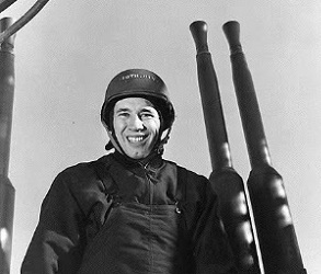 Feller was the first American professional athlete to enlist, doing so two days after the bombing of Pearl Harbor. (AP photo)