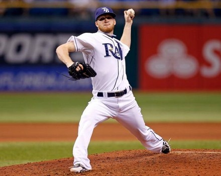 J.P. Howell was among the most sought-after relievers this off-season. (Photo credit - J. Meric)