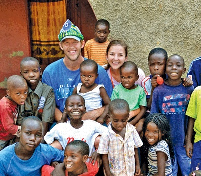 It's no wonder that Clayton Kershaw won the 2012 Roberto Clemente Award. His and Ellen's generosity has undoubtedly saved countless lives. (Photo courtesy of ariseafrica.org)