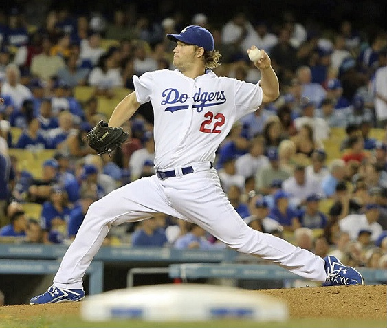 There is absolutely no doubt who the Dodgers ace is. Photo credit - Garrett Nichols)