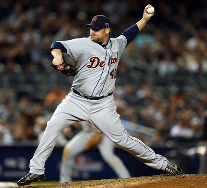 Tigers left-hander Phil Coke spent six years of eating fast food and riding on buses in the minors before finally making it to the major leagues. (Photo courtesy of zimbio.com)