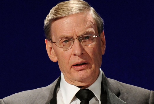 The only person in the world who actually believes that the Steroid Era is over is Bud Selig. Unfortunately, he is also the only person in the world who can make it happen. (Photo credit - Bryan Bedder)