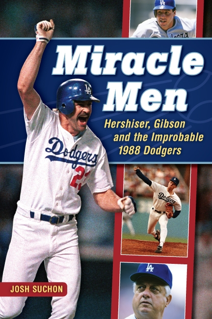 Former DodgerTalk co-host Josh Suchon's book 'Miracle Men' will be a must-read book for all Dodger fans. (Image courtesy of wereoutofink.com)