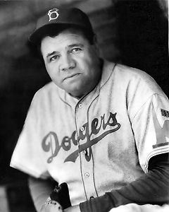 Although the great Babe Ruth put fannies in the seats at Ebbets Field during his brief time as a Dodgers coach, he simply did not have what it took to be a successful coach or manager, as Dodgers GM Larry MacPhail had hoped he would. (AP Photo)