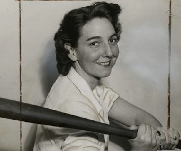 Edith Houghton was the first female scout in professional baseball. Edith died last week. She was 100 years old. (Photo courtesy of Philly.com)