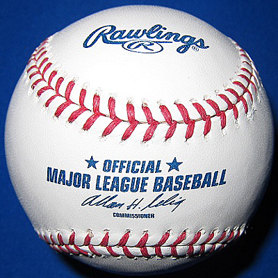 Whose name will appear on every Rawlings Official Major League Baseball beginning in 2015? (Photo credit - Ron Cervenka)