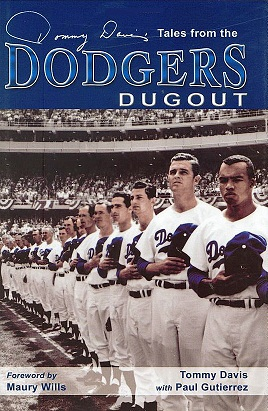 Tales from the Dodgers Dugout by Tommy Davis (Photo courtesy of Amazon.com)