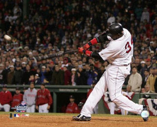 It is quite possible that 38-year-old Red Sox slugger David Ortiz would be out of the game  were it not for the DH rule in the AL. (Photo credit - wggb.com)