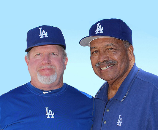 Although I had met Tommy Davis during spring training in 2010, we became friends when I attended Adult Baseball Camp in 2011. (Photo credit - Ron Cervenka)