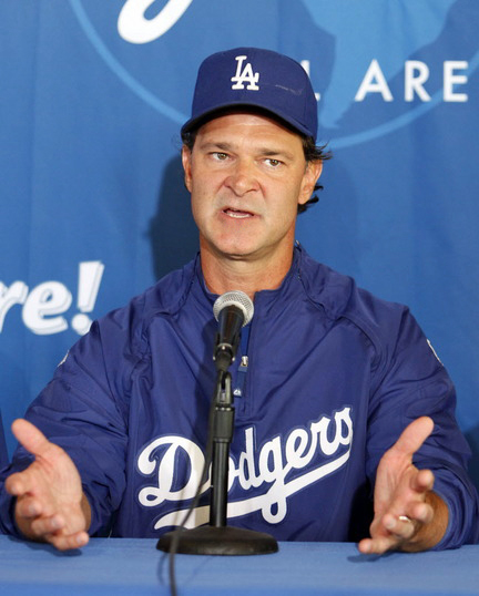If the Dodgers can turn things around and start winning series, there is a strong possibility that Mattingly will be offered a contract extension. (US Presswire)