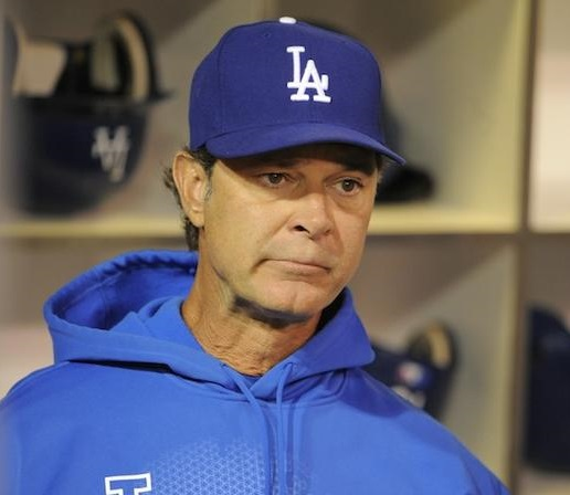 With Mattingly in the final year of his 3-year contract and no contract extension in sight, you can bet that he isn't sleeping all that well right now. (Photo credit - Denis Poroy)