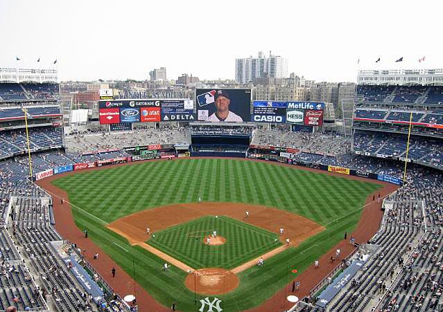 Yankees at Yankee Stadium Yankee Stadium 2013