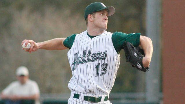 Although Lindsey Caughel was drafted by the Orioles in 2011, he opted to return to Stetson University for his senior year. (Photo credit - Jim Hogue)
