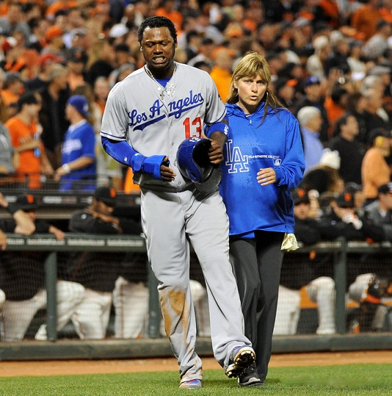 I can absolutely guarantee that everyone in the entire Dodger organization has nothing but the utmost respect for Dodger Head Trainer Sue Falsone. (Photo credit - Jon SooHoo)