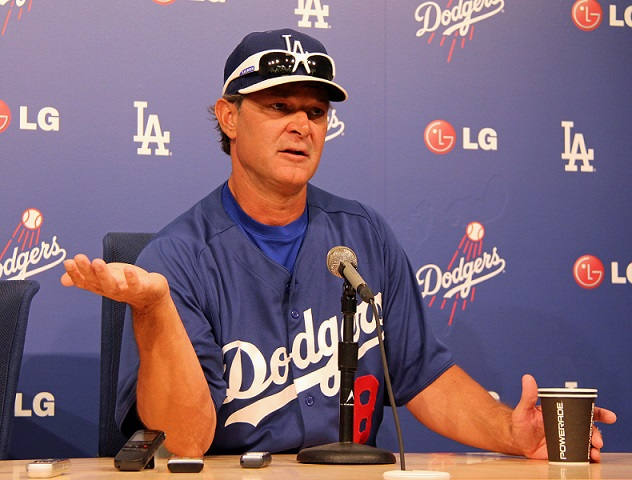 One has to believe that it is no longer a matter of if Mattingly will be fired, but when. (Photo credit - Ron Cervenka)