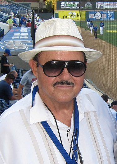 Legendary Dodger scout Mike Brito