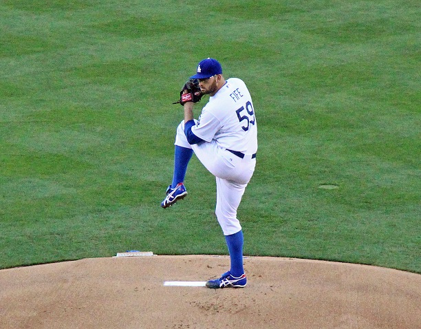 Will Dodger GM Ned Colletti ever realize that Stephen Fife is a much better fifth starter option than Chris Capuano? (Photo credit - Ron Cervenka)