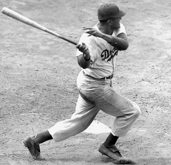 In addition to his remarkable pitching accomplishments, Newcombe was also a great hitter, having hit 15 career home runs - including two in one game once. (AP Photo)