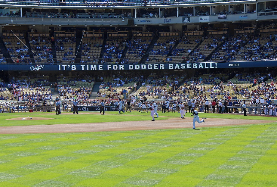 """It only takes five words to trigger Dodgermania - """"It's Time for Dodger Baseball!"""""""