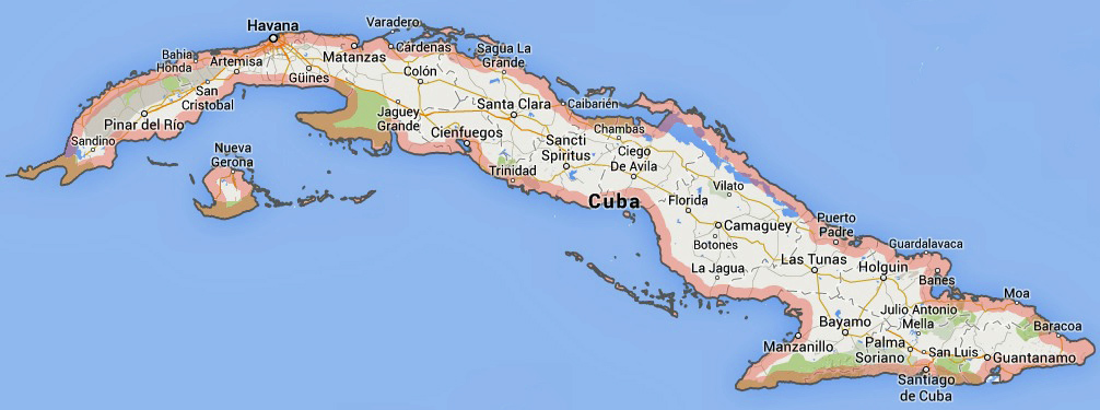 It's not a matter of if the Trade Embargo between the U.S and Cuba will end, but a matter of when. (Image courtesy of Google.com)