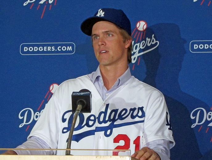 Zack Greinke Dodgers Press Conference One year later – Zac...