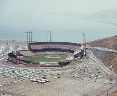 Immediately after it opened in 1960, Candlestick Park was considered one of the worst ballparks in all of baseball. (AP Photo)