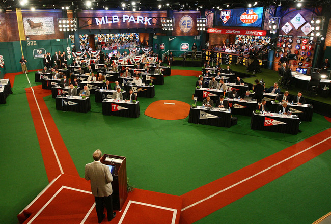 The Dodgers selected six catchers in the 2013 MLB First Year Player Draft (Photo credit - Mike Stobe)