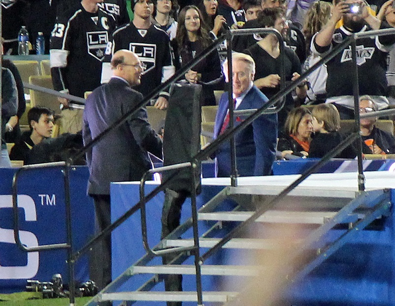 Bob Miller & Vin Scully