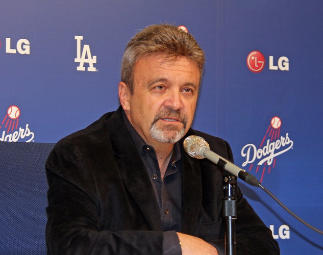 Although Dodgers GM Ned Colletti says that Jarret Martin, Yimi Garcia and Pedro Baez are long shots to make the team out of spring training, he said that they all have a chance to make the team during the 2014 season. (Ron Cervenkas - ThinkBlueLA.com)