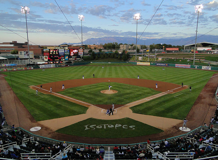 Without some pitching help, things could be a little difficult at Isotopes Park this season. (Photo courtesy of reddit.com)