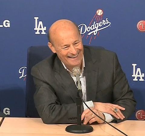 It's time for Dodgers President and CEO Stan Kasten to show his mettle about getting younger. (Video capture courtesy of Dodgers.com)