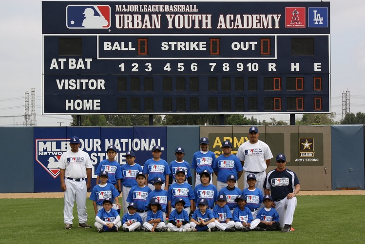 The Urban Youth Academy Dodgers  - (Photo courtesy of omptonclubhouse.blogspot.com)