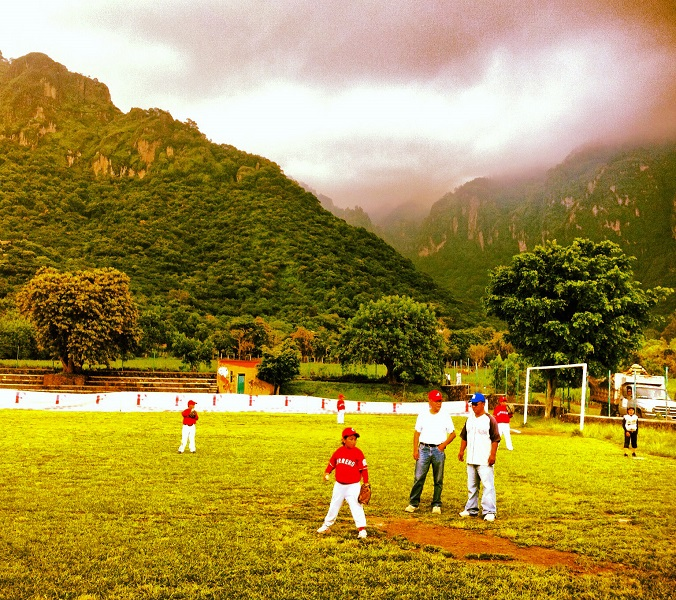 There are no publicly funded Little League fields in Mexico. (Photo credit - Robb Anderson)