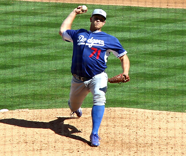 Designating Seth Rosin for assignment came as an absolute shock to Dodger fans and the media alike. (Photo credit - Ron Cervenka)