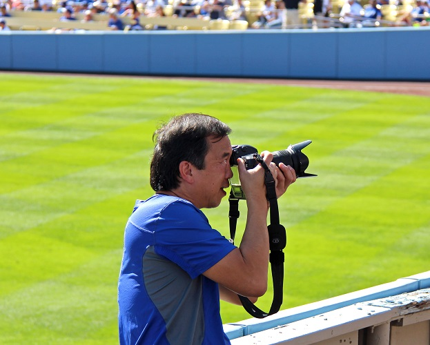There are a lot of outstanding photographers out there but none of them can hold a candle to the great Jon SooHoo. (Photo credit - Ron Cervenka)