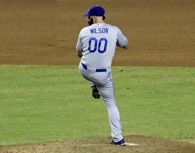 There is no kind way to put it - Brian Wilson is hurting the Dodgers far more than he is helping them and it is time for the Dodgers to cut their losses and get rid of him, in spit of his large contract. (Photo credit - Ron Cervenka)