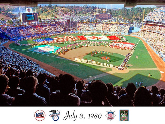 all-star games at dodger stadium