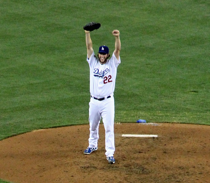 Only 24 days before Clayton Kershaw threw his near perfect game no-hitter, Josh Beckett threw one. (Photo credit - Ron Cervenka)